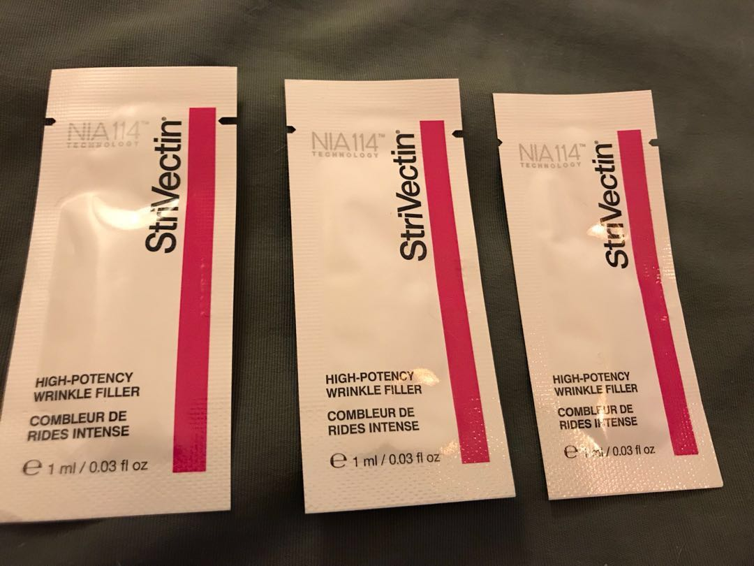 StriVectin High potency wrinkle filler - 1 ml, Health & Beauty, Skin Care on Carousell