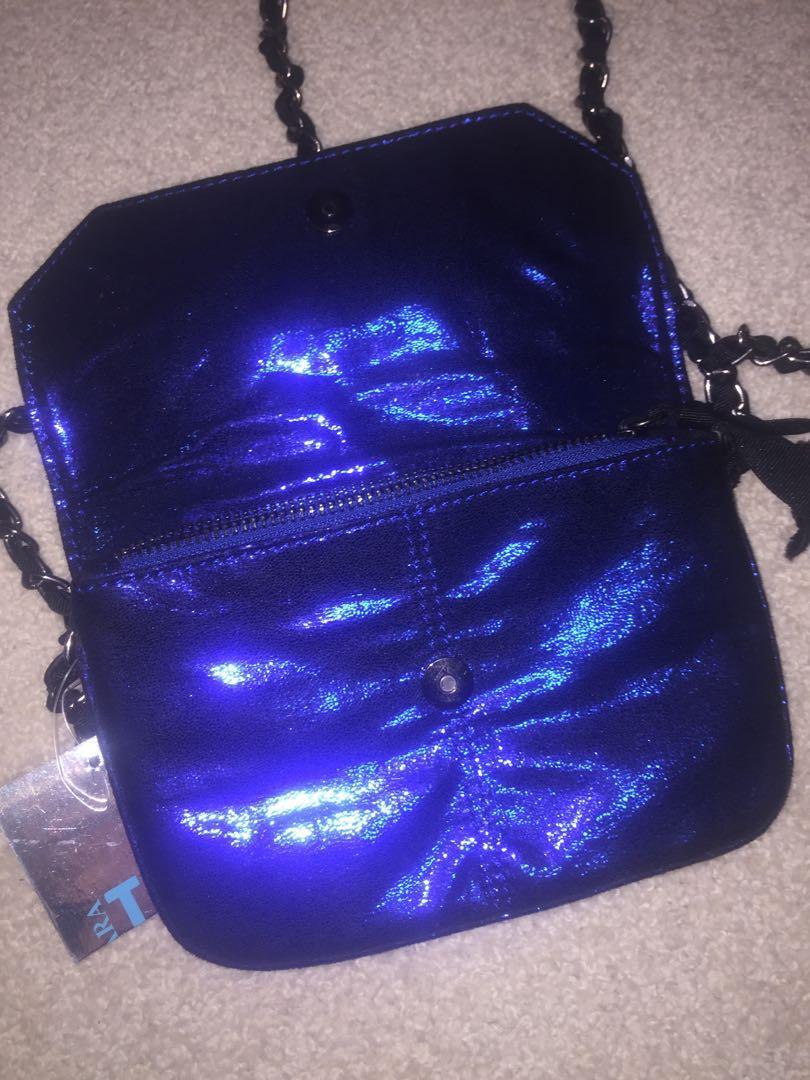 stunning sapphire mini bag