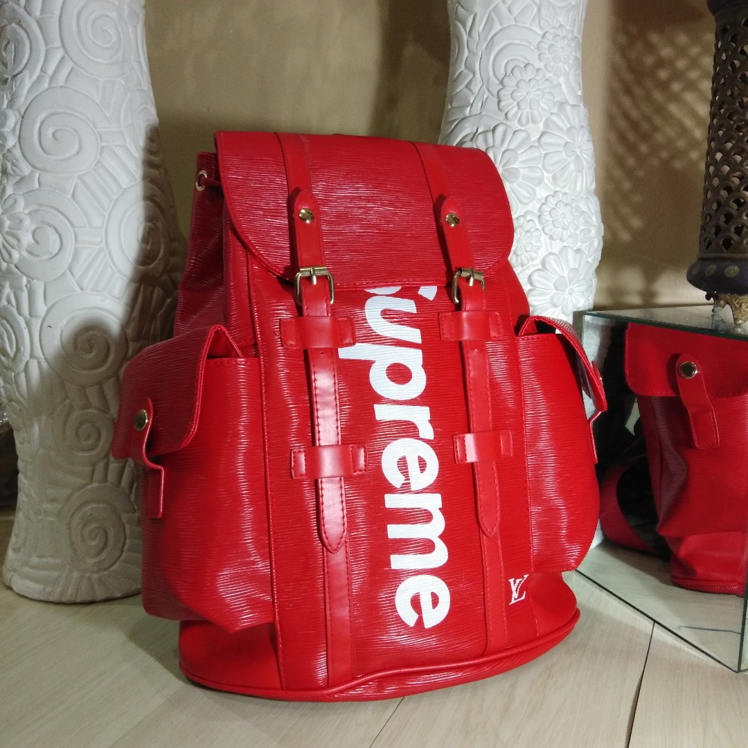 cbfb4cc07268 Supreme X Louis Vuitton Backpack