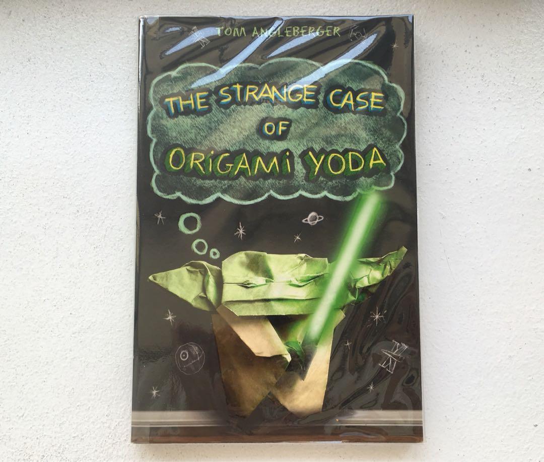 The Strange Case Of Origami Yoda Books Childrens Books On Carousell
