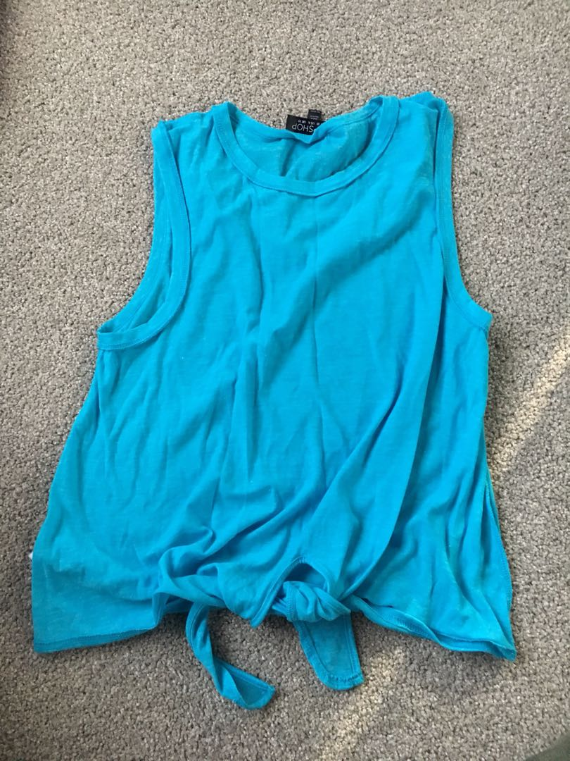 Topshop front bow tank