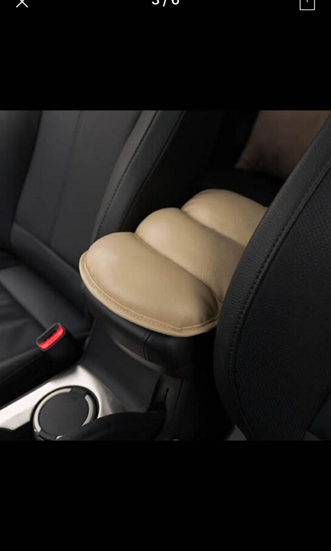 Universal Car Arm Seat Rest Protective Case Auto Soft PU Cushion Armrests Pad Cover Vehicle Center Console