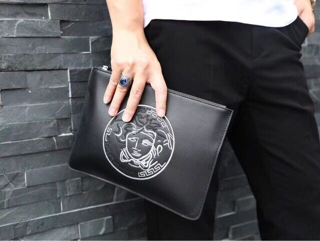 40fc8fccd1 Versace Men Clutch Bag
