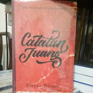 Novel Catatan  Juang By Fiersa Besari