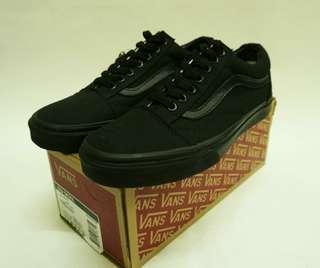 Vans Oldskool Canvas All Black