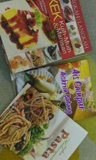 buku masakan.