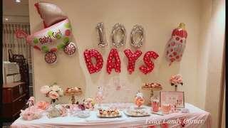 Candy corner 100Days 糖果吧 百日宴
