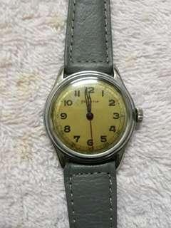 Vintage helvetia military watch