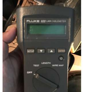 FLUKE 620 LAN CABLE TESTER