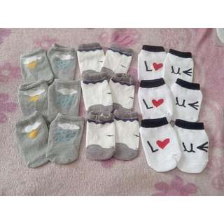 Baby Socks 3 Pairs For 150