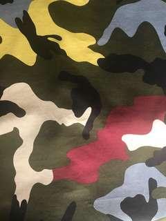 valentino camouflage tee