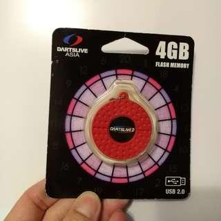4GB USB 2.0 Flash Memory