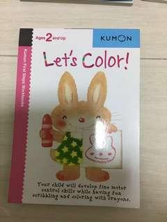 Let's Colour !  Kumon