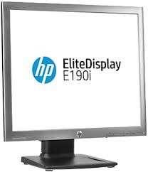 Two HP EliteDisplay E190i - LED monitors - 18.9 - 1280 x 1024