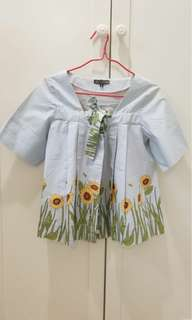 Size S sunflower blouse