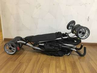 Baby double stroller