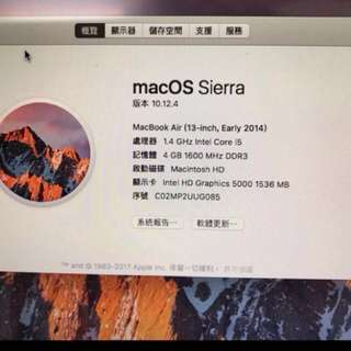 macbook air 13 128g-