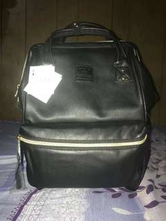 Authentic Anello Leather Backpack