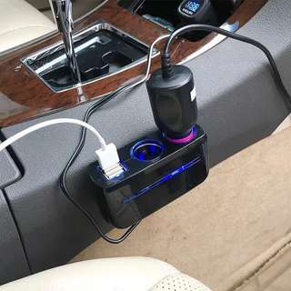 Car charger twin socket 汽車充電器