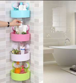Corner Shelf Strong Suction Cup Holder