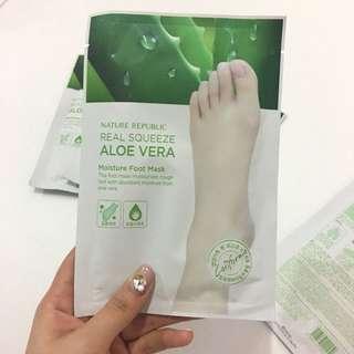 Nature Republic Aloe Vera Foot Mask