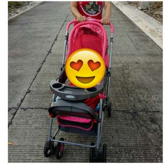 Stroller with rocker