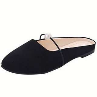 No.139 Size35-39女神鞋 Women's Classic Pointy Toe Ballet Slip On Flats Shoes Casual Lady wear Breathable Flat Comfort Comfortable Scrunch Leather Sandal Slipper Heels Summer Winter