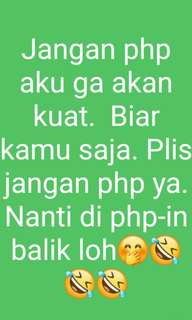 No php