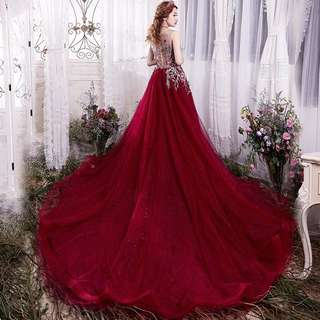 👰RENTAL👰Granda Wedding Gown Evening Dress