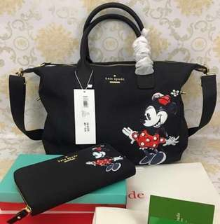 Mickey Mouse Bag & Wallet Set