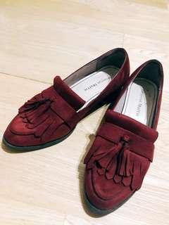 🚚 麂皮跟鞋