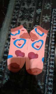 Colored and designed socks