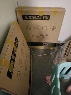 (全新)兒童圍欄有2個  75cmx84cm