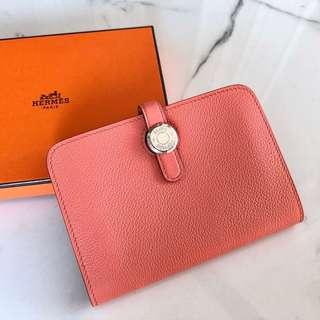 Hermes Flamigo Dogon Wallet