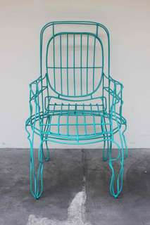 Iron Chair from Bali