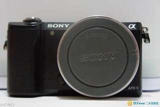 索尼sony a5000微單 only機身