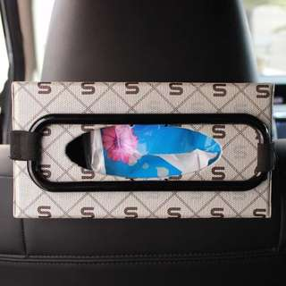 Tissue box holder 汽車紙巾夾