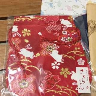 日本束口袋