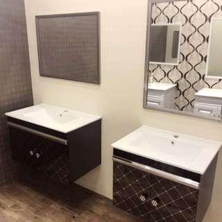 現代不鏽鋼浴櫃組