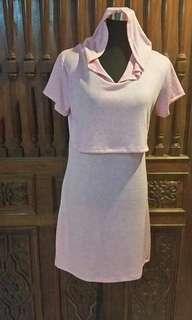 Hoodie Nursing Dress