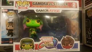 Gamora vs Strider 2pack Funko Pop WITHOUT Strider