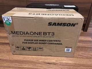 Samson Bt3 Bluetooth professional monitoring speakers