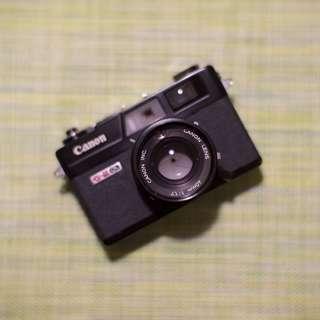 Canon Canonet QL17 Black Film Camera