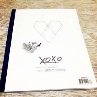 EXO xoxo wolf Korean ver. 1st album  EXO 首張專輯 韓版