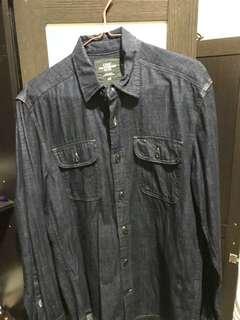 H&M denim shirt mint condition