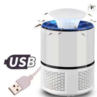 USB吸入式滅蚊燈-白色款_暫時缺貨