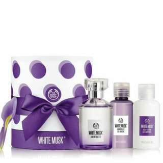 The Body Shop 白麝香淡香水禮盒套裝 White Musk ® Eau De Toilette 60ML Gift Set