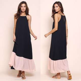 Supergurl capri maxi dress