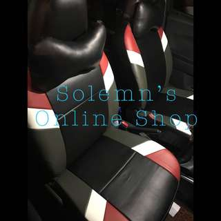 Customised German Leather Seat Cover Made to Order