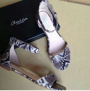 Charles&keith snake sandals